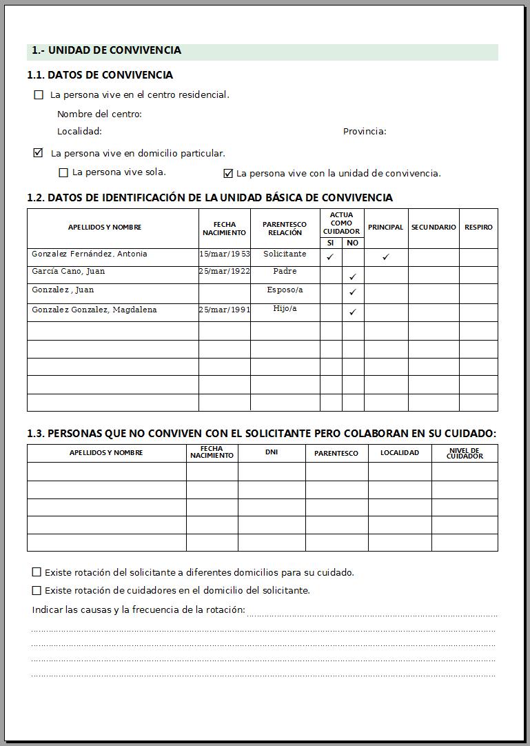 Software para Servicios Sociales » Los modelos de informes ...